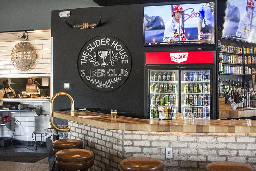 The Slider House's bar. - PHOTO BY MABEL SUEN