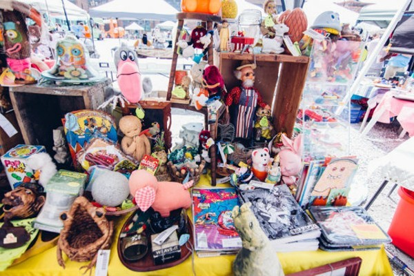You never know what you'll find at St. Louis Swap Meet. - PHOTO BY ABBY GILLARDI.