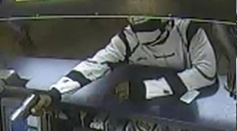 A thief in a Stormtrooper costume robbed Church's Chicken, 920 N. Grand Ave., police say. - IMAGE VIA ST. LOUIS METROPOLITAN POLICE