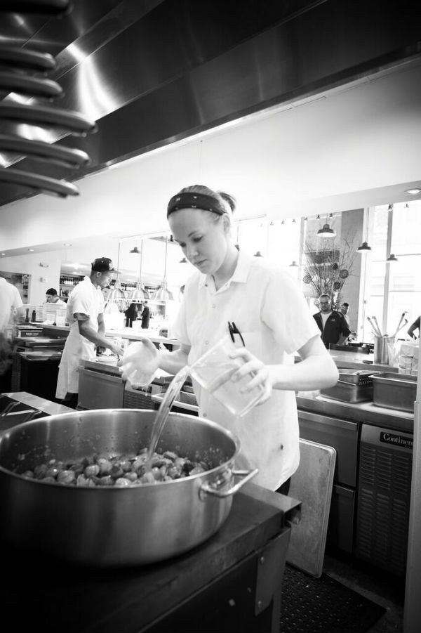 Ashley Shelton is a member of Eater's prestigious Young Guns class of 2016. - GREG RANNELS