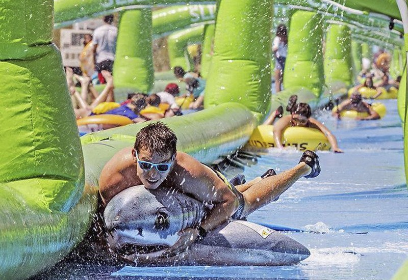 Slide the City. Dogtown. Saturday. Be there or miss the fun.