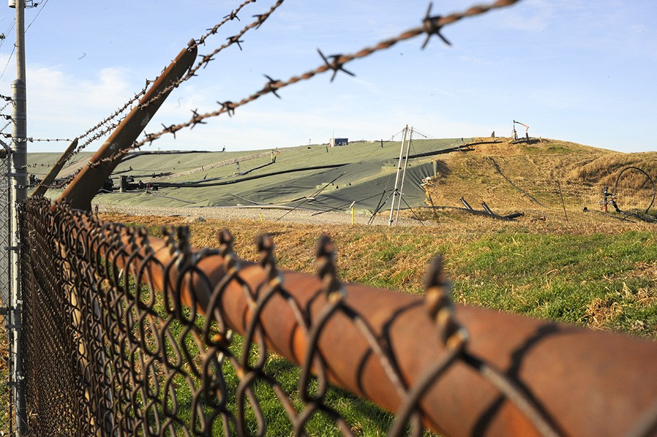 Beneath the West Lake Landfill is a cache of radioactive waste. - KELLY GLUECK