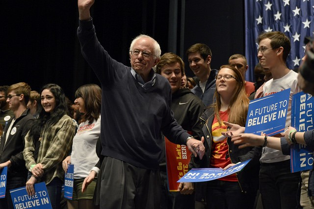 Bernie Sanders: Vanquished as a candidate, he hopes the revolution continues. - PHOTO COURTESY OF FLICKR/ALEX HANSON