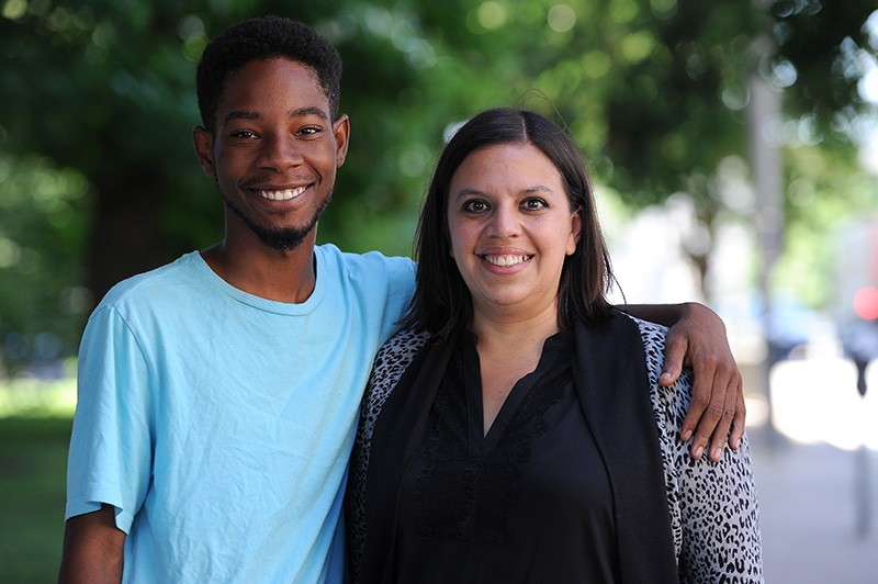 Rasheen Aldridge and Megan Betts are both running in the 5th Ward. - PHOTO BY HOLLY RAVAZZOLO