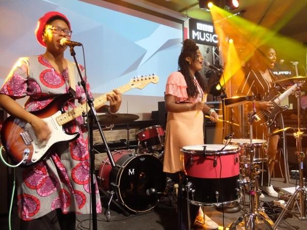 Big Joanie at British Music Embassy - DANA PLONKA