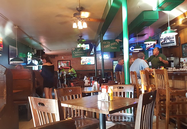 Gregg's is one of the few options for dining and drinking in the near north riverfront. - PHOTO BY DANNY WICENTOWSKI