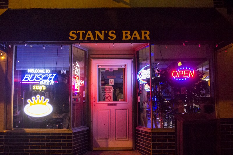 Stan's Bar. - PHOTO BY JOSEPH HESS