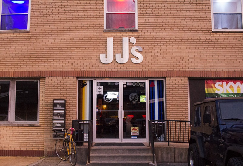 JJ's Clubhosue is just south of 40. - PHOTO BY JOSEPH HESS