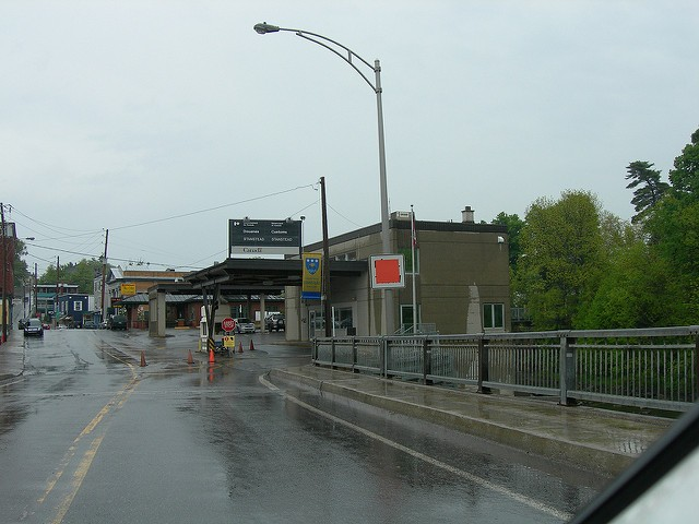 Thomas Byrne was apprehended at the Stanstead crossing, where Vermont meets Quebec. - PHOTO COURTESY OF FLICKR/JIMMY EMERSON, DVM