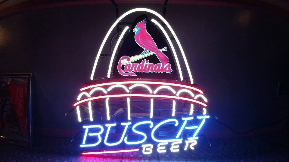 Just one of Shawn Jacobs' many neon beer signs. - COURTESY OF TNT AUCTIONS