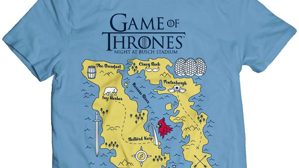 Cardinals Game of Thrones Theme Night Includes an Awesome T