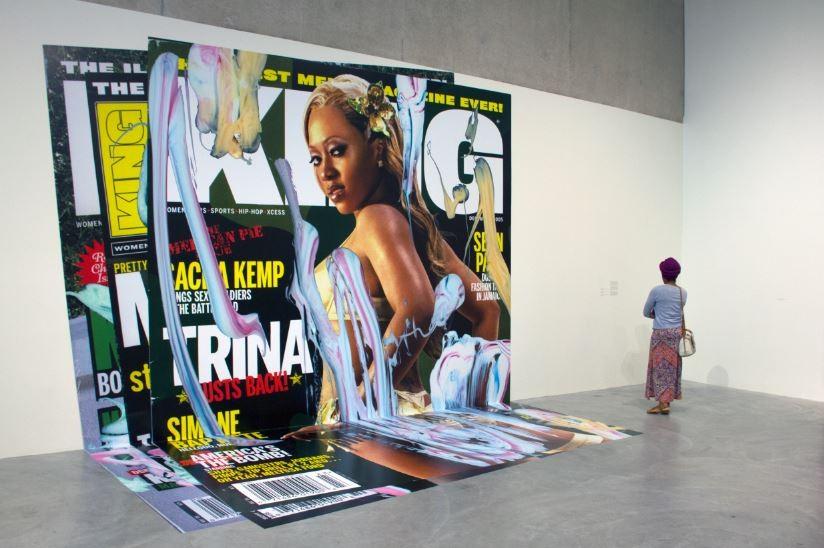 Art Calendar Magazine Subscription : Gallery defends kelley walker artist under fire in cam st