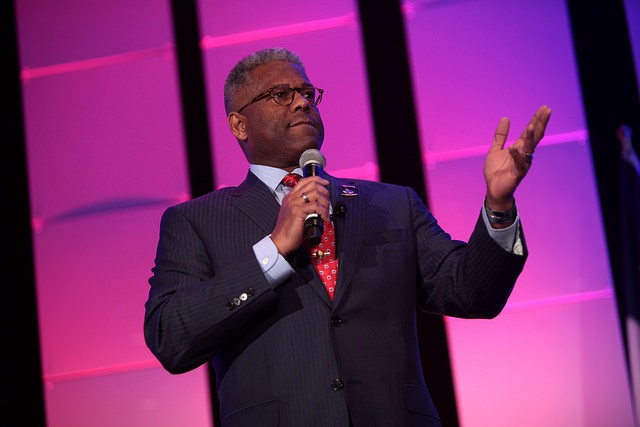 Controversial Fox News commentator Allen West is headed to SLU tonight. - PHOTO COURTESY OF FLICKR/GAGE SKIDMORE