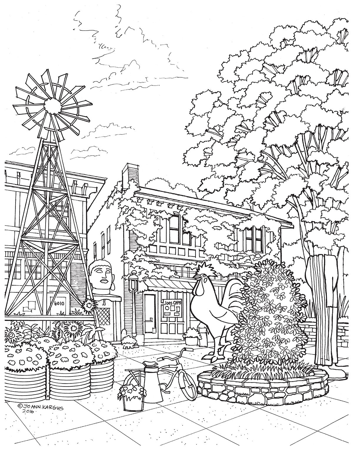 New Adult Coloring Book Shows the Beauty of St Louis