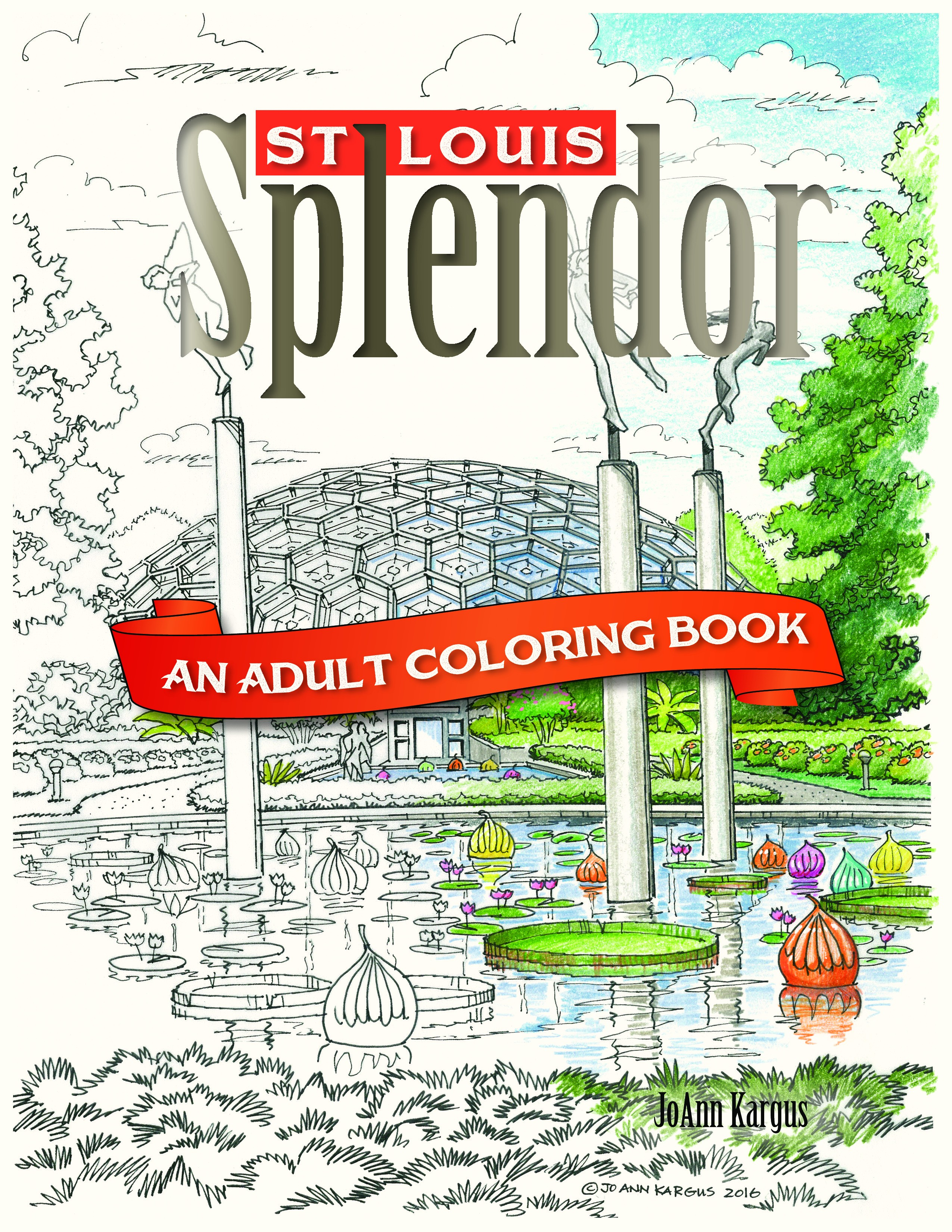 New Adult Coloring Book Shows the Beauty of St. Louis Architecture ...