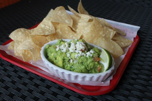 Chips and guacamole. - CHERYL BAEHR