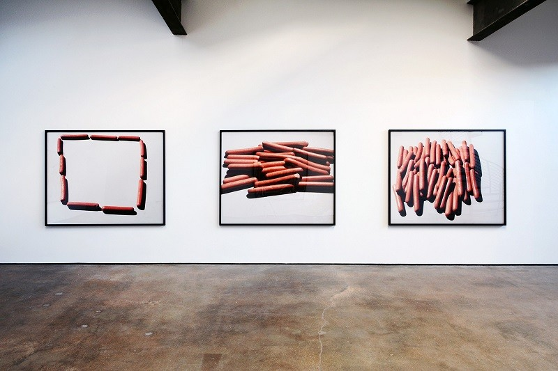 INSTALLATION VIEW OF LUCAS BLALOCK: LATE WORK, NOVEMBER 8 – DECEMBER 20, 2014