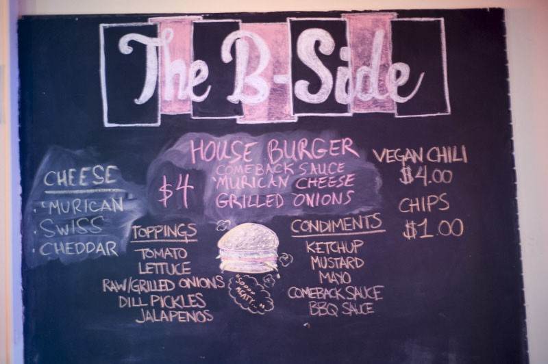 The menu is small, but will work for vegans. - PHOTO BY KELLY GLUECK