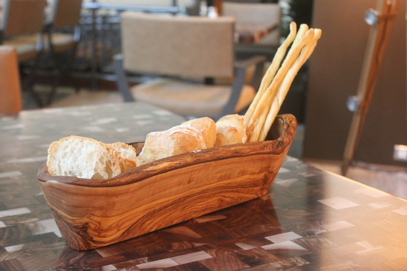 There aren't many free bread baskets in town this good looking. - PHOTO BY SARAH FENSKE