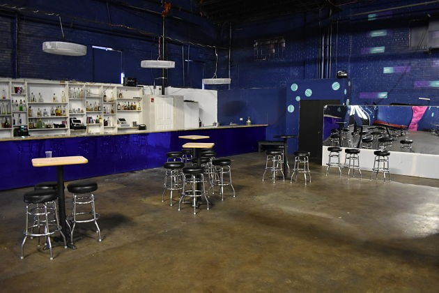 The venue has an appropriately large bar to match its huge size, with a 3 a.m. license as well. - DANIEL HILL