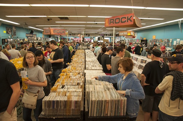 Record Store Day, scheduled for April 13, brings out the music lovers. - MICAH USHER
