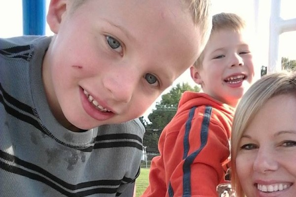 Ethan and Owen Cadenbach were killed by their father, police say. - IMAGE VIA GOFUNDME