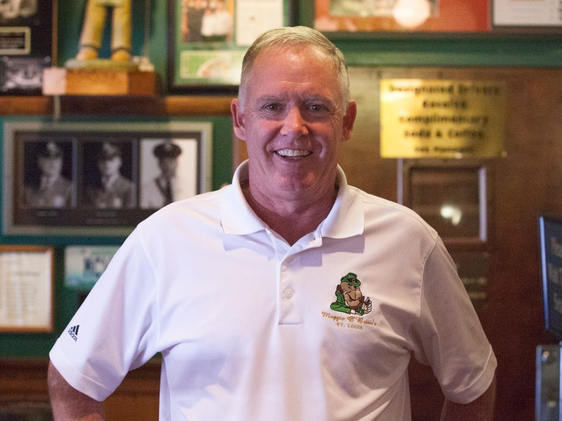 Pat McVey, co-owner of Maggie O'Brien's was shot dead on Wednesday night. - IMAGE VIA MAGGIEOBRIENS.COM