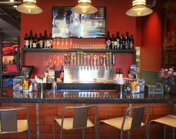 Rock & Brews' tasting bar. - CHERYL BAEHR