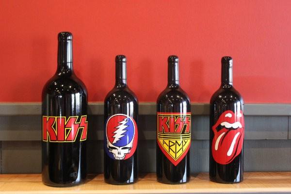 Kiss wine for your imbibing pleasure. - CHERYL BAEHR