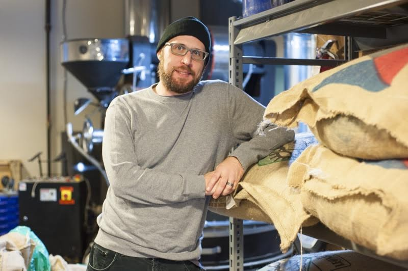 Flyover Coffee's Eric Wilkinson delivers you the good stuff. - KELLY GLUECK
