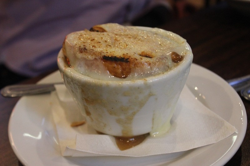 "The ""Famous Barr French Onion Soup."" - PHOTO BY SARAH FENSKE"