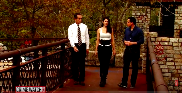 Albert Watkins, Giovanna Cassily and Jason Mattera at Cementland. - IMAGE VIA YOUTUBE