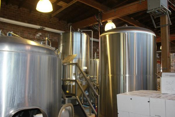 Fermentation tanks. - CHERYL BAEHR