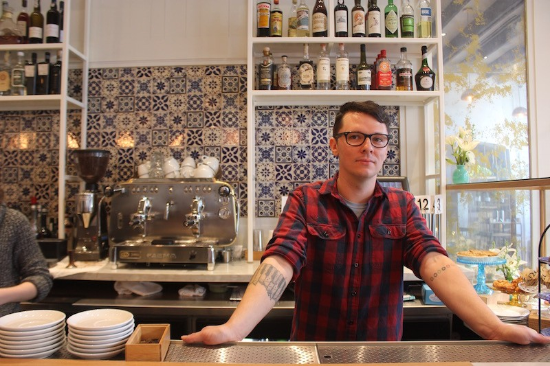 Jordan Howe is now the head barista at Sardella. - PHOTO BY CHERYL BAEHR