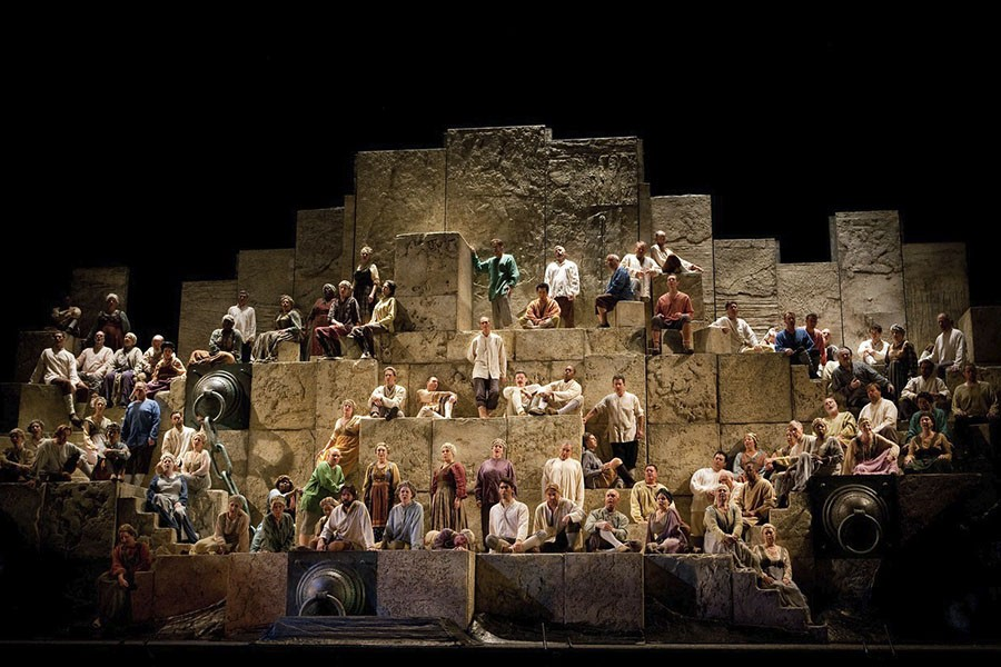 The Met performs Nabucco — and you can watch live from St. Louis. - MARTY SOHL