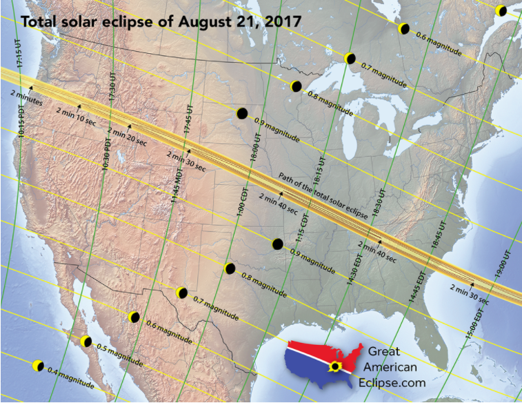 A Total Solar Eclipse Is Coming in 2017  and St Louis Is a Top