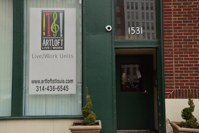 ArtLoft is located just one block from City Museum, at Washington Avenue and 16th Steet. - PHOTO BY KATELYN MAE PETRIN