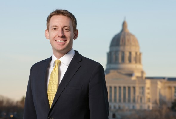Jason Kander has some big plans for the future. - VIA