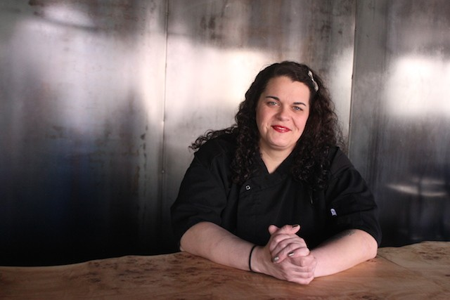 Samantha Pretto is the executive chef at the Dark Room, which will reopen soon in its new home in the Grandel Theatre. - PHOTO BY SARAH FENSKE