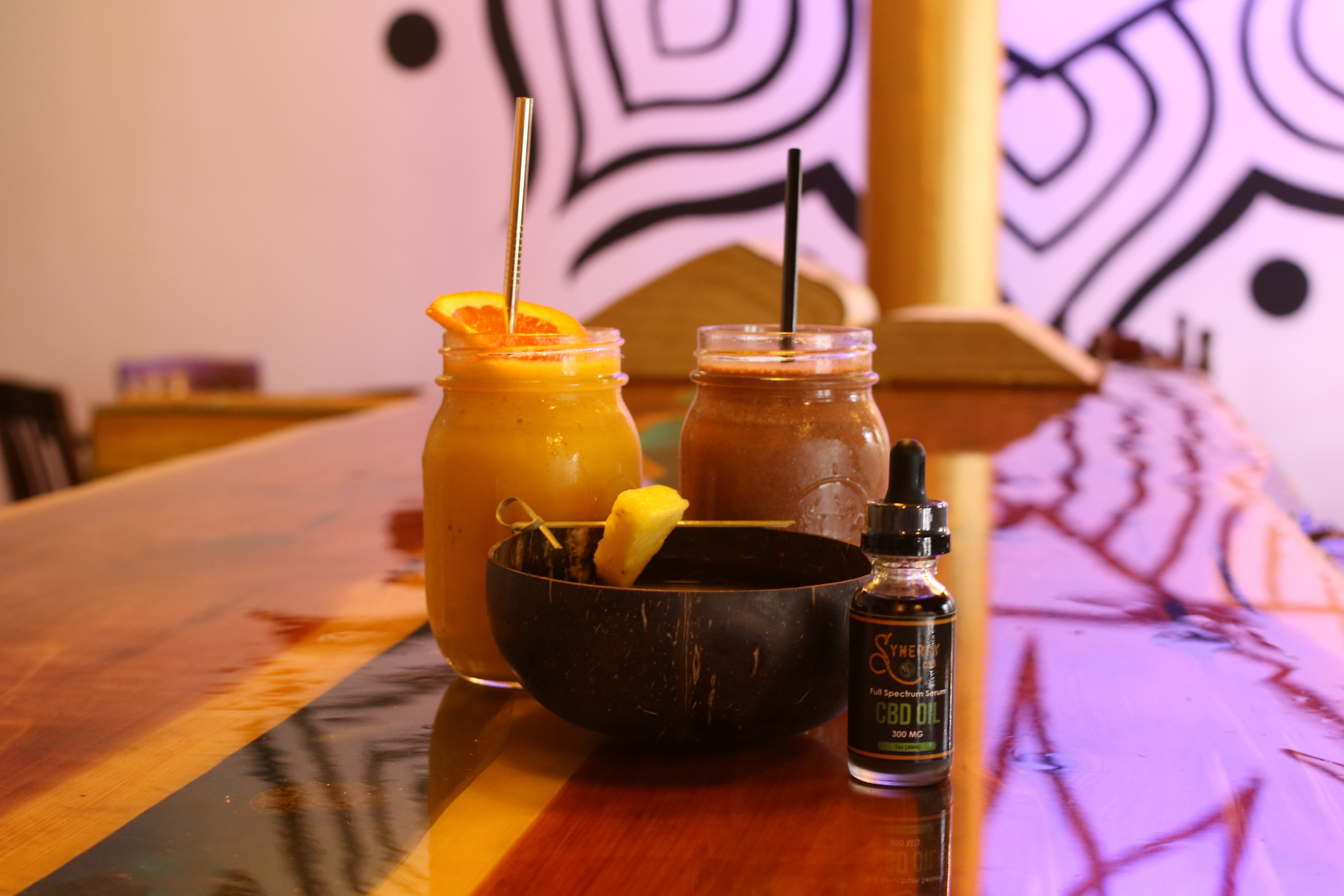 Synergy Smoothie and Elixir Bar Brings Kava and CBD Drinks