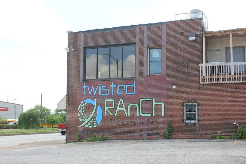 Twisted Ranch's sign faces South Seventh Street. - SARAH FENSKE