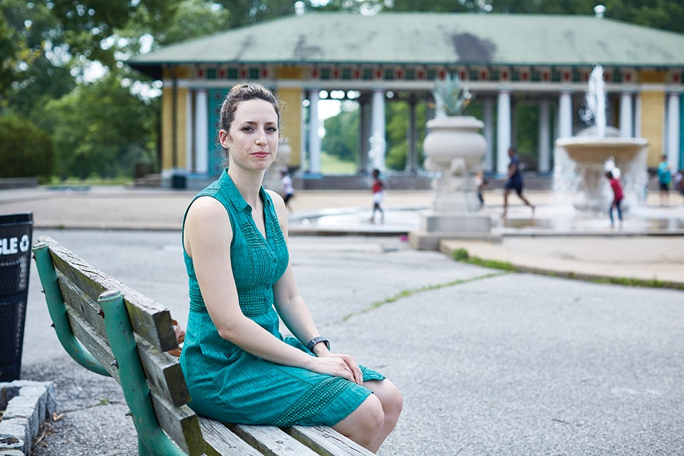 Lexie Walsh graduated from the YWCA's program and now serves as a facilitator. - THEO WELLING