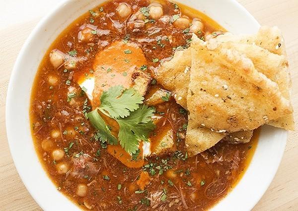 Reeds' lamb stew with chickpeas. - MABEL SUEN