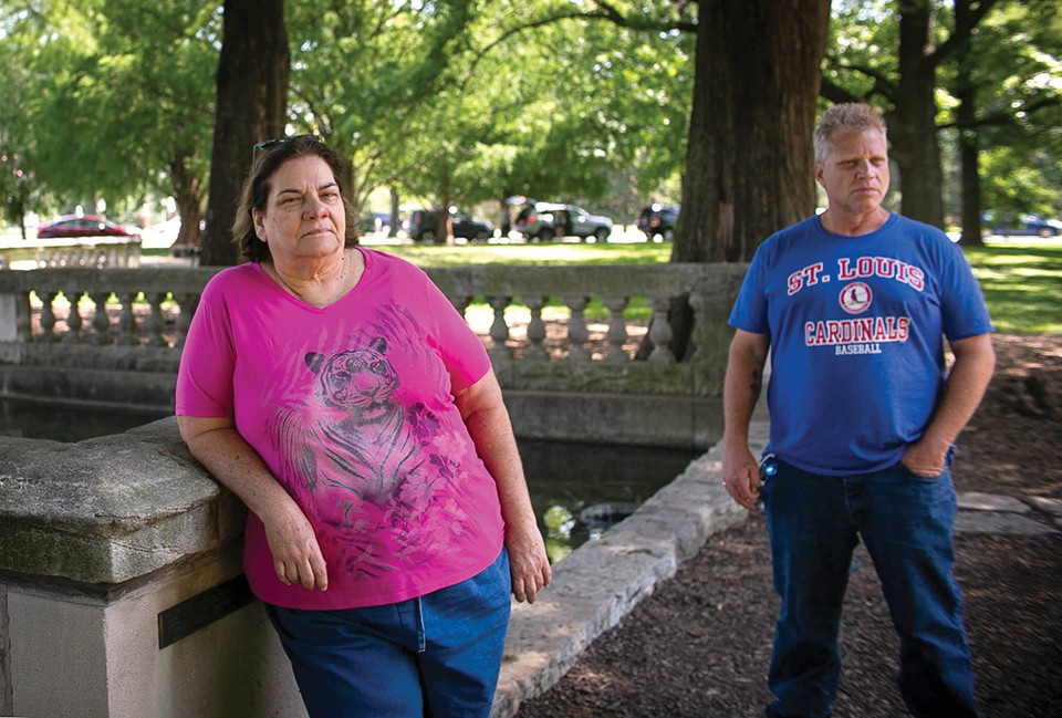 Robyn's mother Saundra Mihan and brother Tom Mihan have waited decades for an arrest in her vicious murder. - JEN WEST