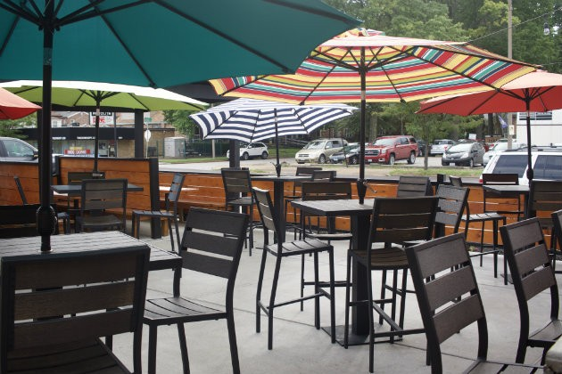 The patio at La Catrina offers a lovely atmosphere. - CHERYL BAEHR