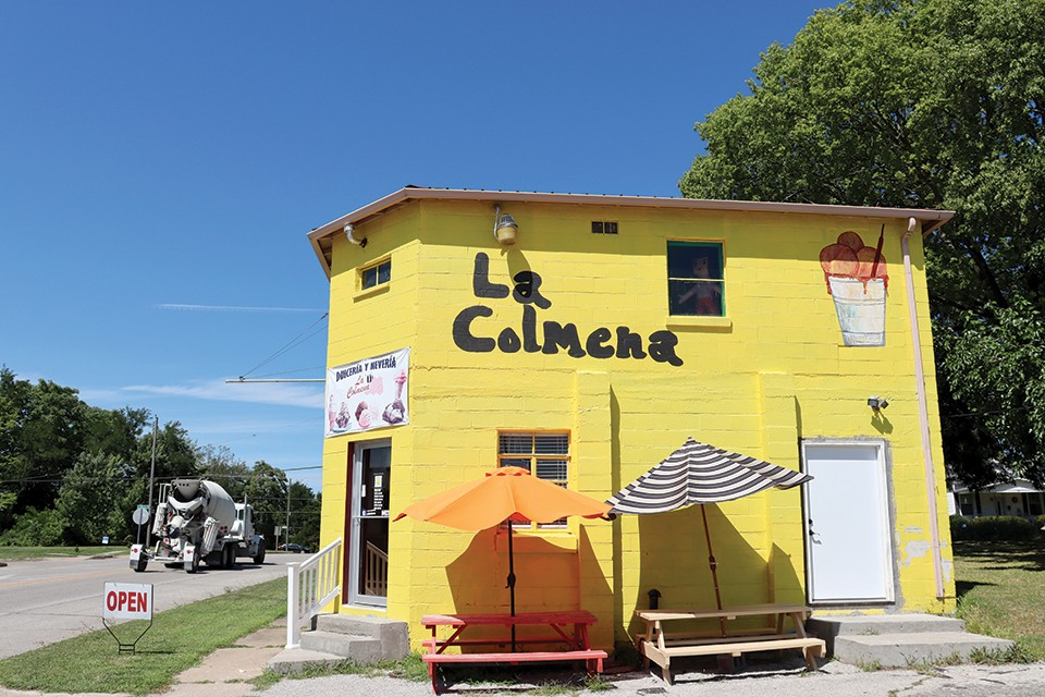 La Colmena sells Mexican candy and ice cream across from the Sedalia train station. - JAMES POLLARD