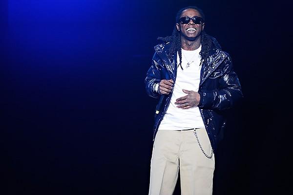 Lil Wayne, noted marijuana enthusiast. - TODD OWYOUNG