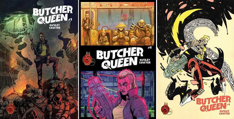 The comic is centered on Syd Kiowa, a fugitive cop-turned-mercenary. - VIA THE ARTIST