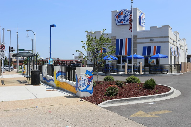 White Castle, soon to be a one-stop shop. - PAUL SABLEMAN / FLICKR