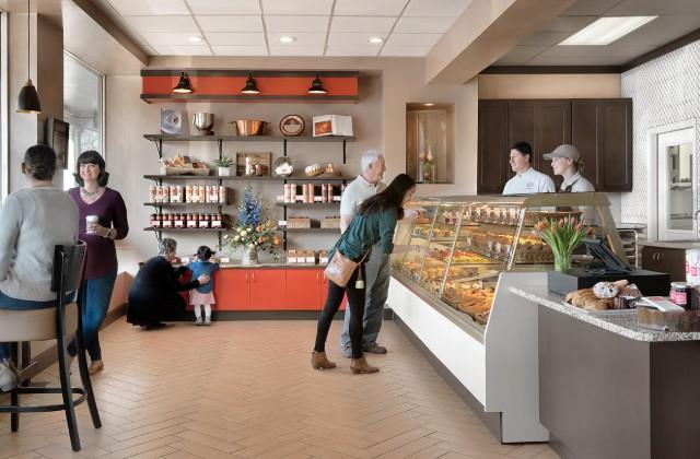 A peek inside the flagship location in Kirkwood. - COURTESY NATHANIEL REID BAKERY